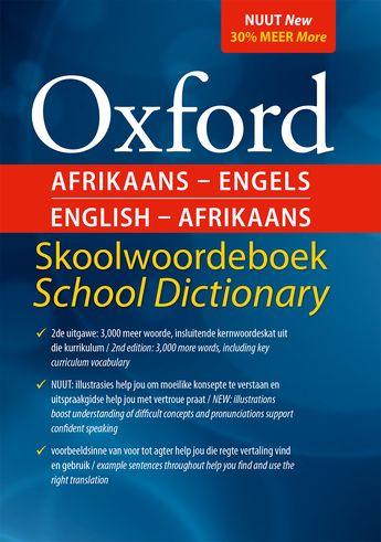 Oxford Afrikaans-Engels English-Afrikaans Skoolwoordeboek School Dictionary 2e (Hardback)