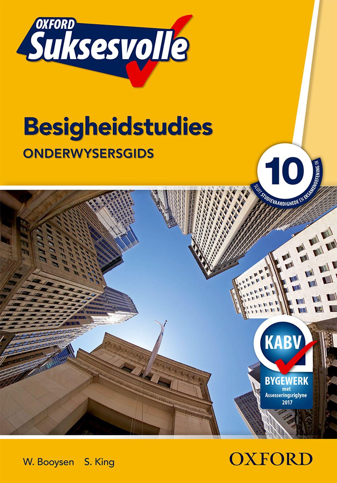 Oxford Suksesvolle Besigheidstudies Graad 10 Onderwysersgids