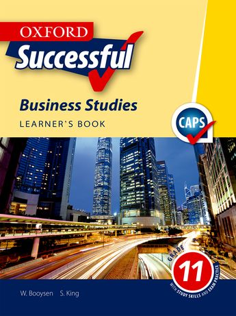 Oxford Successful Business Studies Grade 11 Learner's Book