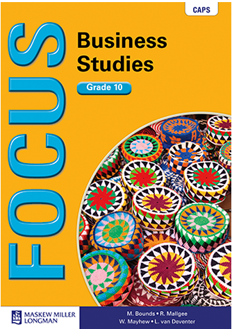 Focus Business Studies Grade 10 Learner's Book (CAPS)