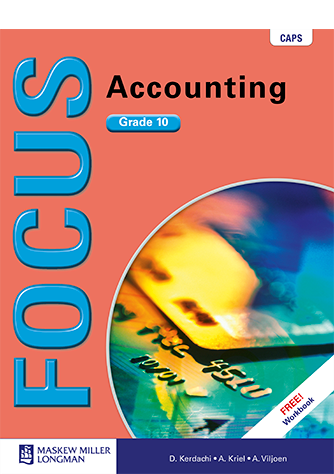 Focus Accounting Grade 10 Learner's Book (CAPS)