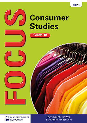 Focus Consumer Studies Grade 10 Learner's Book (CAPS)