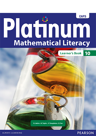 Platinum Mathematical Literacy Grade 10 Learner's Book (CAPS)