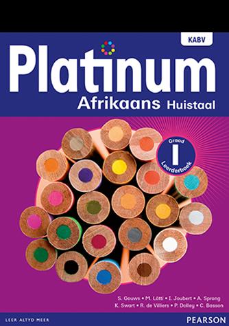 Platinum Afrikaans Huistaal Graad 1 Leerderboek (NKABV)