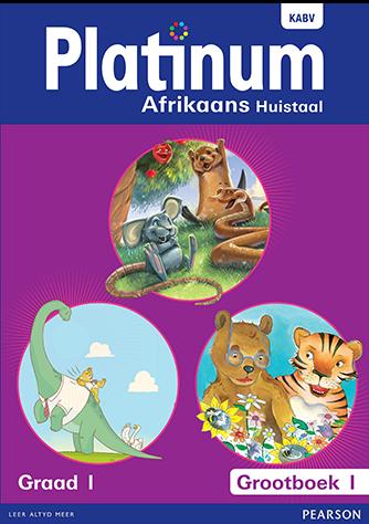 Platinum Afrikaans Huistaal Graad 1 Grootboek Pakket (NKABV)