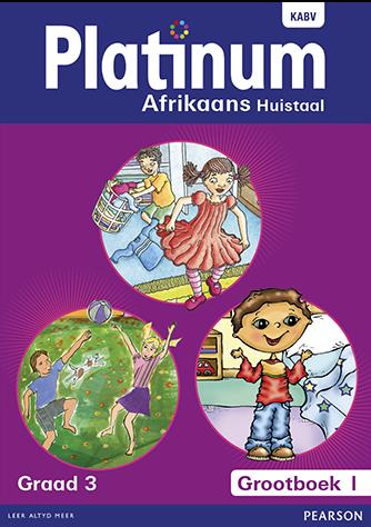 Platinum Afrikaans Huistaal Graad 3 Grootboek Pakket (NKABV)