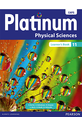 Platinum Physical Sciencess Grade 11 Learner's Book (CAPS)