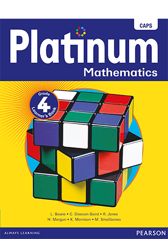Platinum Mathematics Grade 4 Learner's Book (CAPS)