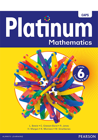 Platinum Mathematics Grade 6 Learner's Book (CAPS)