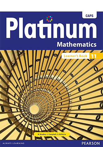 Platinum Mathematics Grade 11 Learner's Book (CAPS)