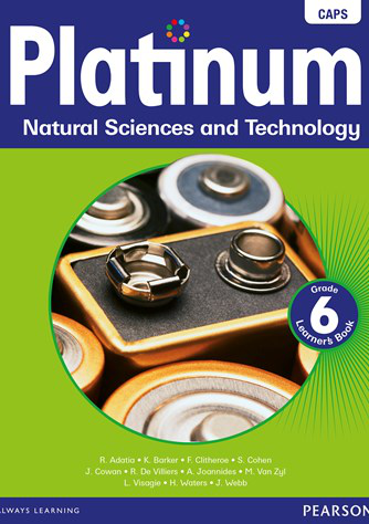 Platinum Natural Science and Technology Grade 6 Learner's Book (CAPS)