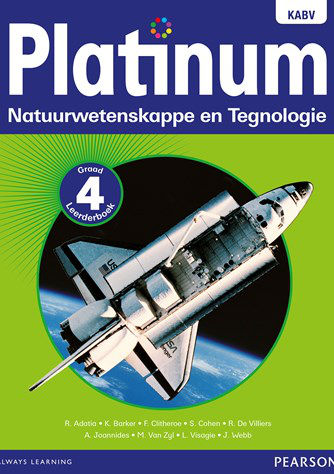 Platinum Natuurwetenskappe en Tegnologie Graad 4 Leerderboek (NKABV)