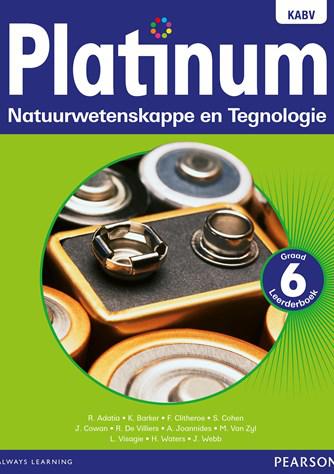 Platinum Natuurwetenskappe en Tegnologie Graad 6 Leerderboek (NKABV)