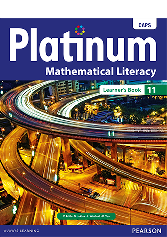 Platinum Mathematical Literacy Grade 11 Learner's Book (CAPS)