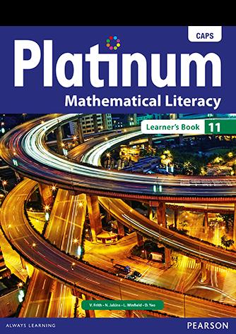 Platinum Mathematical Literacy Grade 11 Learner's Book (CAPS)