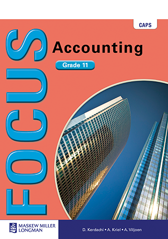 Focus Accounting Grade 11 Learner's Book (CAPS)