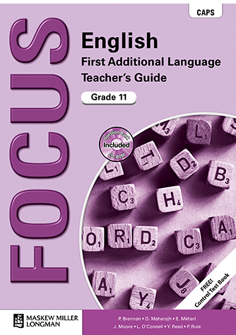 Focus English First Additional Language Grade 11 Teacher's Guide (CAPS)