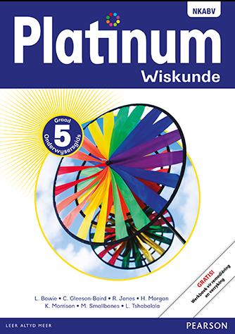 Platinum Wiskunde Graad 5 Onderwysersgids (NKABV)