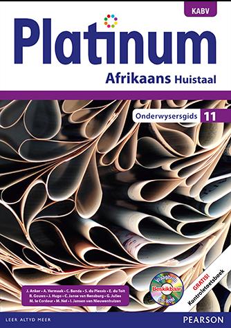 Platinum Afrikaans Huistaal Graad 11 Onderwysersgids (NKAVB)
