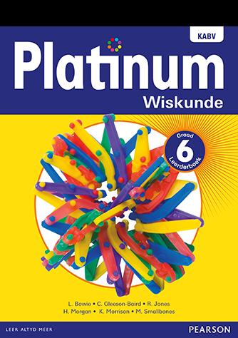 Platinum Wiskunde Graad 6 Leerderboek (NKABV)