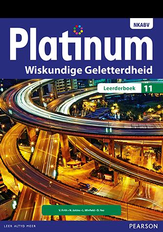 Platinum Wiskundige Geletterdheid Graad 11 Leerderboek (NKAVB)