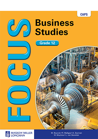 Focus Business Studies Grade 12 Learner's Book (CAPS)