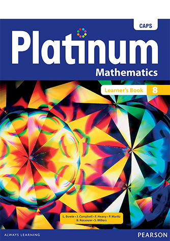 Platinum Mathematics Grade 8 Learner's Book (CAPS)