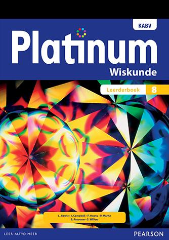 Platinum Wiskunde Graad 8 Leerderboek (NKABV)