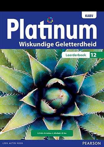Platinum Wiskundige Geletterdheid Graad 12 Leerderboek (NKABV)