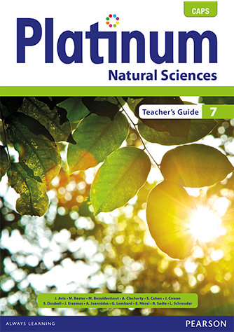 Platinum Natural Sciences Grade 7 Teacher's Guide (CAPS)