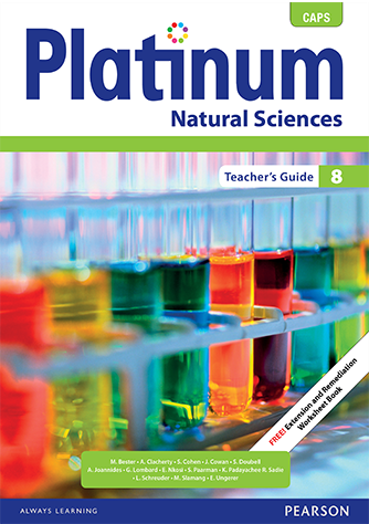 Platinum Natural Sciences Grade 8 Teacher's Guide (CAPS)
