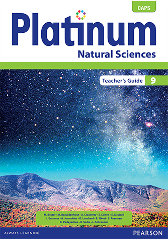 Platinum Natural Sciences Grade 9 Teacher's Guide (CAPS)