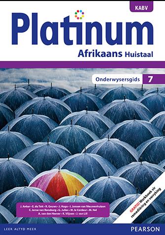Platinum Afrikaans Huistaal Graad 7 Onderwysersgids (NKABV)