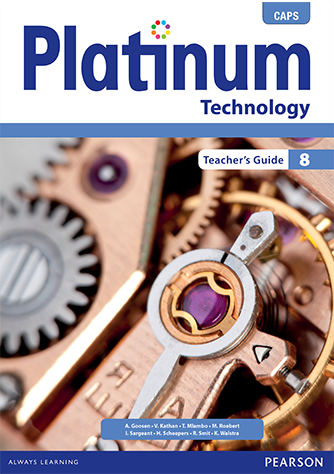 Platinum Technology Grade 8 Teacher's Guide (CAPS)
