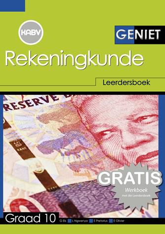 Geniet Rekeningkunde Graad 10 Leerdersboek en Gratis Werkboek (NKABV)