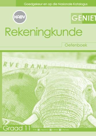 Geniet Rekeningkunde Graad 11 Werkboek (NKABV)