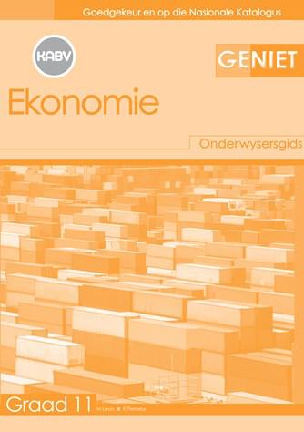 Geniet Ekonomie Graad 11 Onderwysersgids (NKABV)