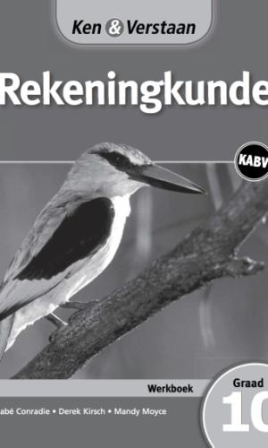 Ken & Verstaan Rekeningkunde Werkboek Graad 10