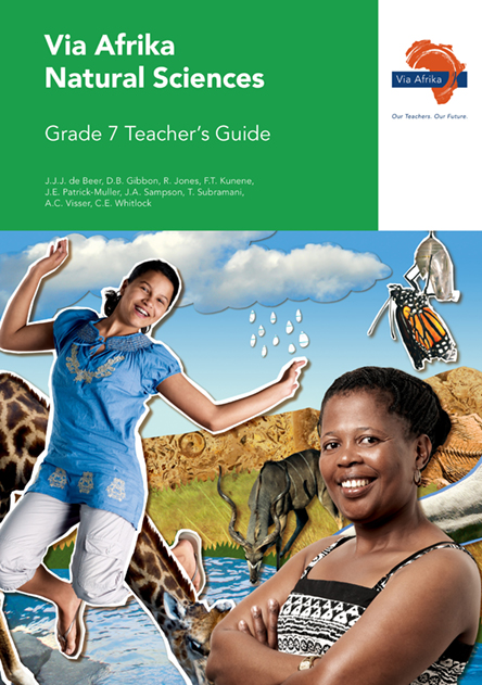 Via Afrika Natural Sciences Grade 7 Teacher's Guide (Printed book.)