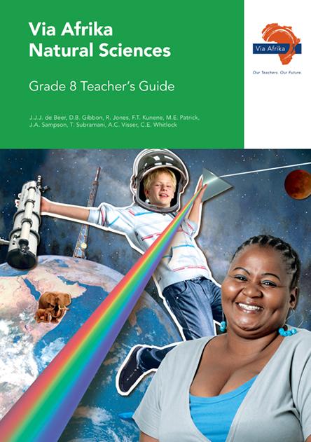 Via Afrika Natural Sciences Grade 8 Teacher's Guide (Printed book.)