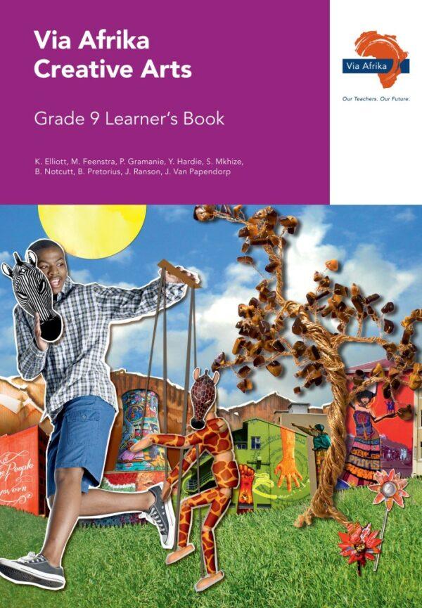 Via Afrika Creative Arts Grade 9 Learner's Book (Printed book.)