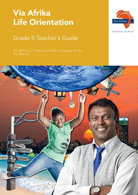 Via Afrika Life Orientation Grade 9 Teacher's Guide (Printed book.)