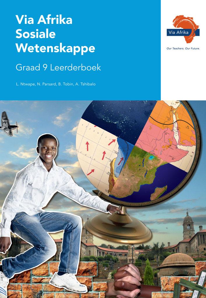 Via Afrika Sosiale Wetenskappe Graad 9 Leerderboek (Printed book.)