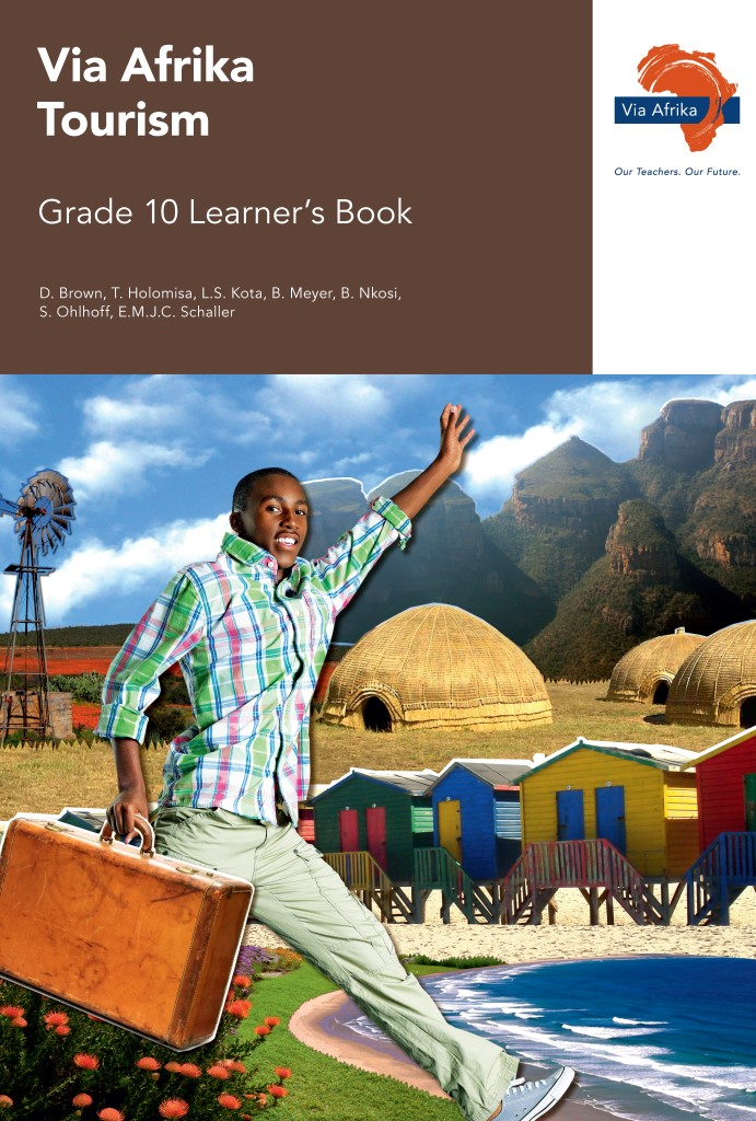 Via Afrika Tourism Grade 10 Learner's Book (Printed book.)
