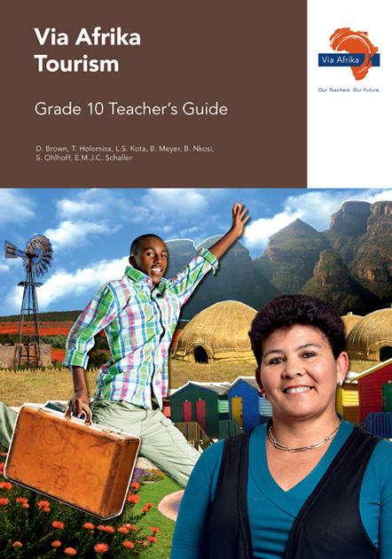 Via Afrika Tourism Grade 10 Teacher's Guide (Printed book.)