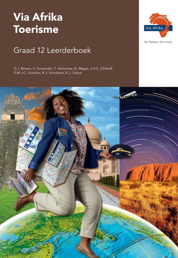 Via Afrika Toerisme Graad 12 Leerderboek (Printed book.)