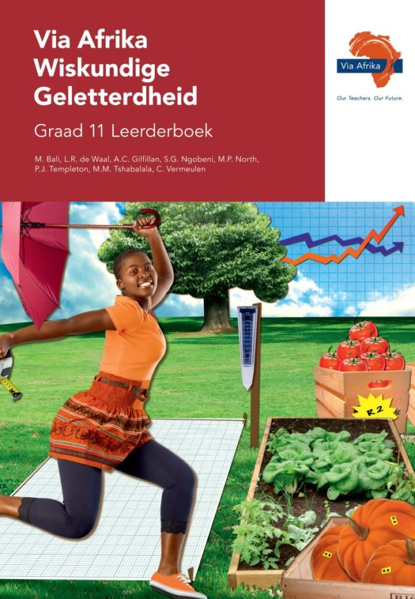 Via Afrika Wiskundige Geletterdheid Graad 11 Leerderboek (Printed book.)
