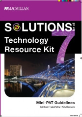 SOLUTIONS FOR ALL Technology GR7 RESOURCE KIT