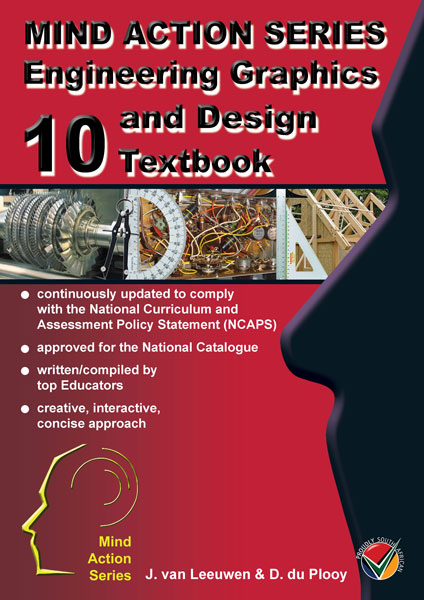 Engineering & CAD design graphics Gr 10